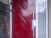drzwi PVC z panelem